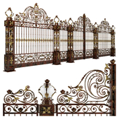 Forged gates wickets and fences N3
