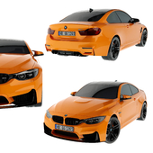 BMW M4 M-Performance Edition Orange