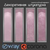 Decorative plaster, single layer version 315