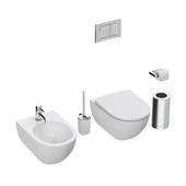 Toilet and bidet KERAMAG ACANTO