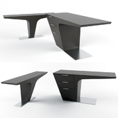 Bismarck Office Desk and Console