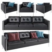 Ligne Roset Andy sofa and armchair
