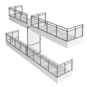 Modular balcony x4