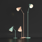 Floor lamp and table lamp Eglo Priddy, Priddy-P