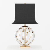 Pavillion Dot Globe Table Lamp by Circa lighting