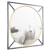 Shultis Oversized Decorative Wall Accent Mirror VARK4036