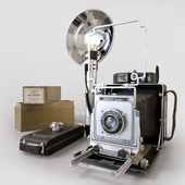 Camera Busch Pressman Model D 4x5
