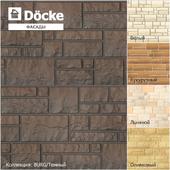 Фасадные панели от производителя Döcke / Коллекция BURG