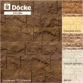Фасадные панели от производителя Döcke / Коллекция FELS