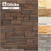 Фасадные панели от производителя Döcke / Коллекция STEIN