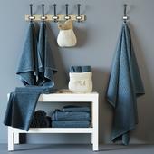 Vaughn (VÅGSJÖN) Bath towels