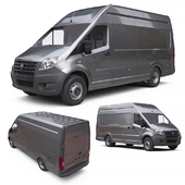 Gazelle NEXT All-metal wagon