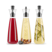 Decanter for vegetable oil and vinegar Oil / vinegar carafe Drip-free