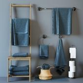 Vaughn (VÅGSJÖN) Bath towels set 2