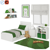 Universal children room Green