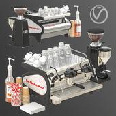 La marzocco coffee set