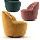 Margot Swivel Accent Chair