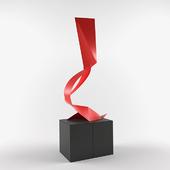 Sculpture Moretti Francesco Acrobata femminile