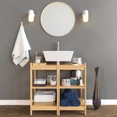 Декоративный набор для ванной 4