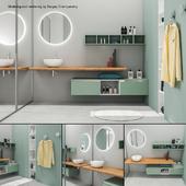 Bathroom furniture set Arcom Escape 4