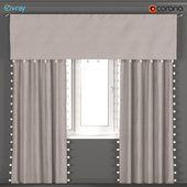 Curtains with pom-poms from Restoration hardware - RH Baby & Child.