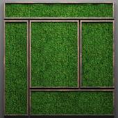Vertical garden 23. Stabilized moss