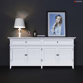 Chest of drawers with drawers and doors Dantone Home