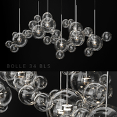 Giopato & Coombes Bolle 34 Bubble 2 CLEAR / SILVER