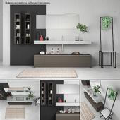 Bathroom furniture set Arcom Escape 5