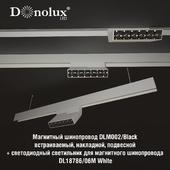 Luminaire for magnetic busbar trunking DL18786_06M White