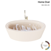 Bette Home Oval