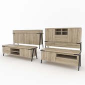Commodes Metz from MOMA Studio