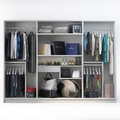 Набор одежды, обуви и аксессуаров для шкафа mix 3