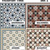 Topcer Victorian Tiles Set1