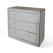 Mirror chest of drawers