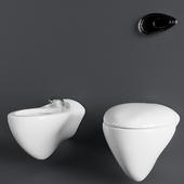 Toilet & Bidet Noken by Zaha Hadid