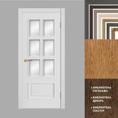 Alexandrian doors: model Palmyra 6Facet (collection of Alexandria)