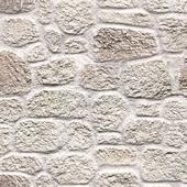 Decorative plaster under the stone