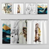 Shower Curtains set 01