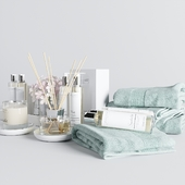 The white company bath set