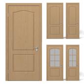 Interior doors light wood