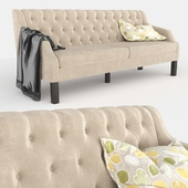 Pottery Barn SoMa Aimee Upholstered Sofa