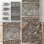 Встраиваемая декоративная панель из кирпича