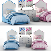 RH Baby & Child's Francesca Upholstered Bed Collection