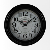 Lacourse Whisper Round Wall Clock