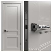 Internal door Academy Medea 5 doors # 2