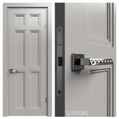 Internal door Academy Medea 5 doors # 1