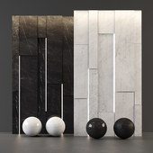 White Marble and Black Marble