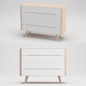 Gazzda Ena Two Chest of Drawers