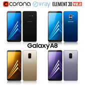 Samsung Galaxy A8 all colors